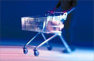 מערכת למניעת גניבות של עגלות סופרמרקט