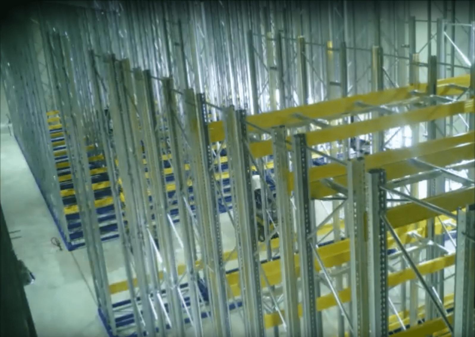 אחסנה דינאמית למפעל