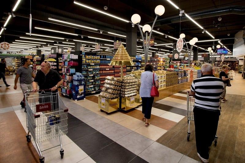 מידוף לסופרמרקט סטופמרקט בנתניה
