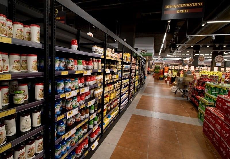 מדפים לסופרמרקט בנתניה