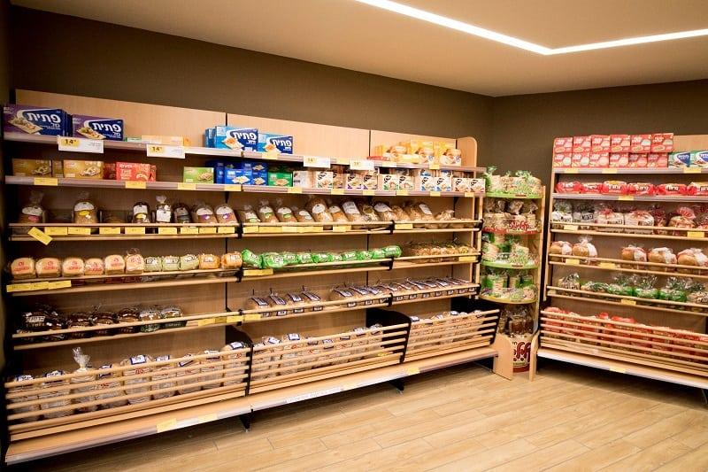מידוף לסופרמרקט בנתניה