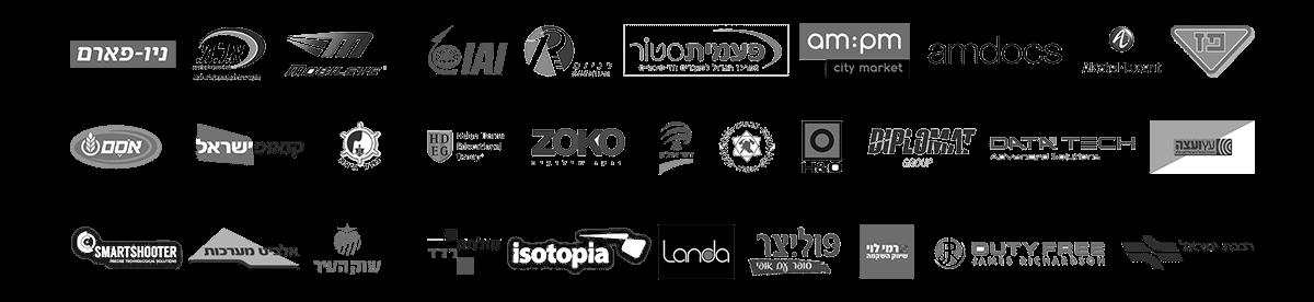 לוגואים חברות ממליצות מדפים