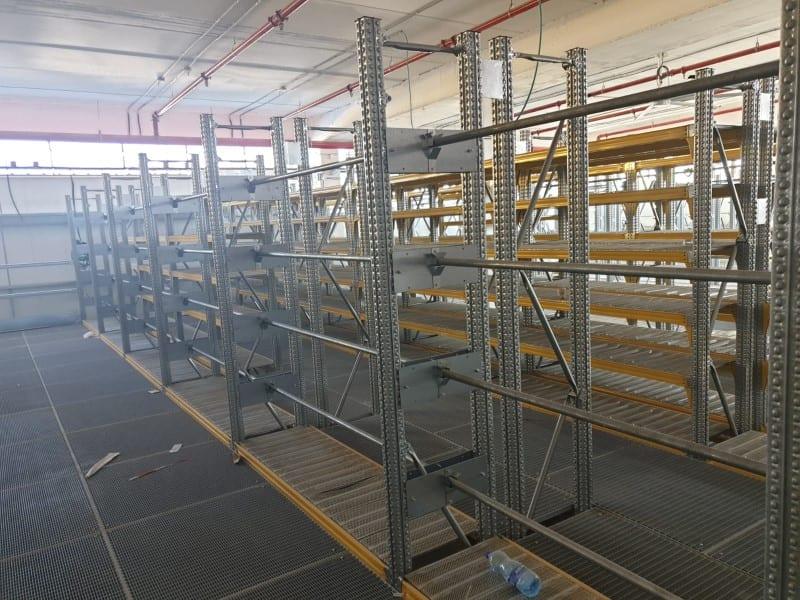 פתרונות איחסון למחסן ציוד