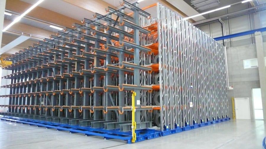 אחסנה כבדה למפעל ביטחוני